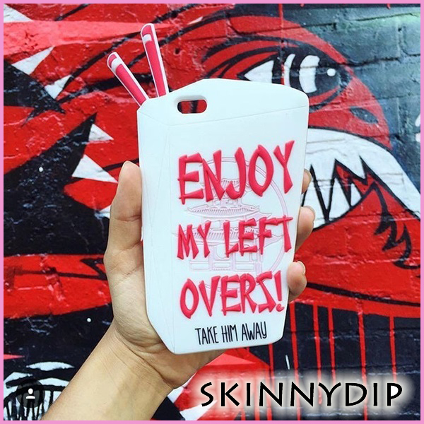 SKINNYDIP☆iPhone6s/6 ケース enjoy my Left overs シリコン