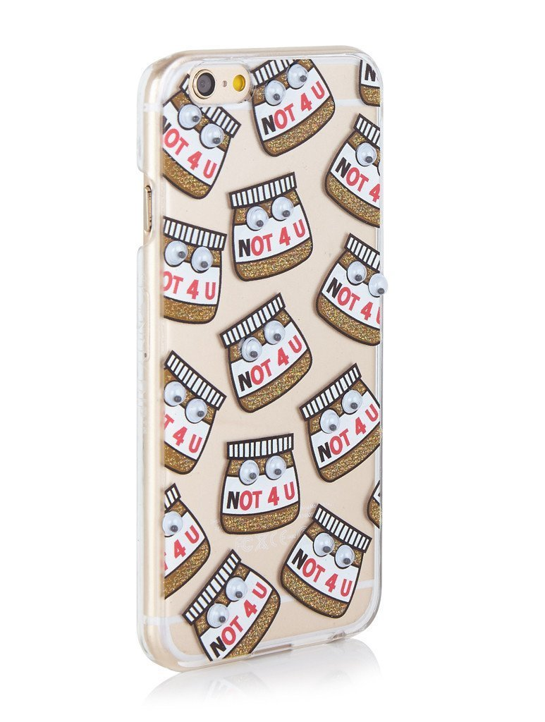 SKINNYDIP☆iPhone6s/6 PLUS ケース Not 4 U  くるくるEYE