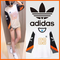 ★adidas★ COLOR BLOCK 3/4 WHITE