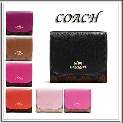 COACH★SMALL trifold wallet F53837