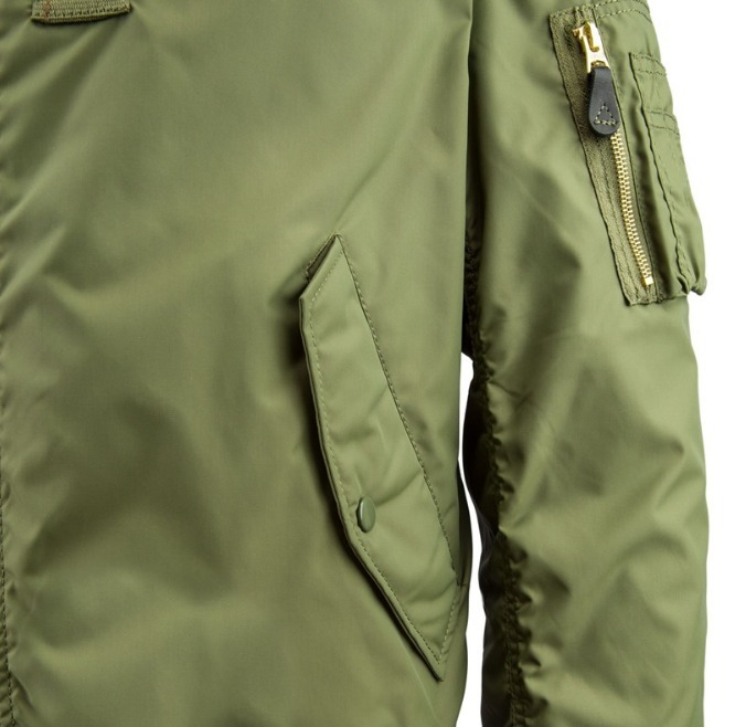大人気!ALPHA アルファ MA-1 SLIM FIT FLIGHT JACKET