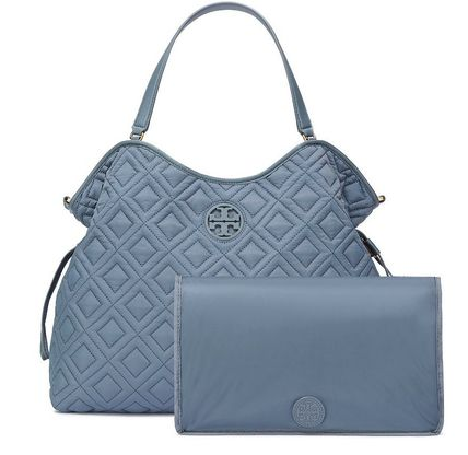 Tory Burch マザーズバッグ 最新作期間限定セールトリーバーチ marion QUILTED  BABY BAG(11)
