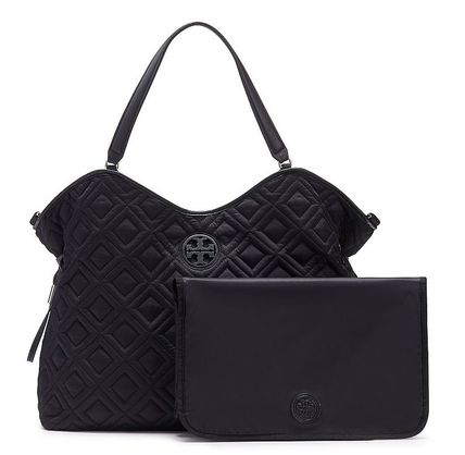 Tory Burch マザーズバッグ 最新作期間限定セールトリーバーチ marion QUILTED  BABY BAG(2)