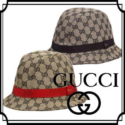 GUCCI☆16-17AW 子供服 「GG」ロゴハット 国内発送!