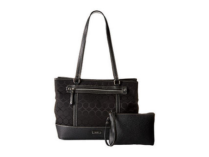 Nine West トートバッグ 完売間近SALE【NINE WEST】 9S Jacquard Tote(6)