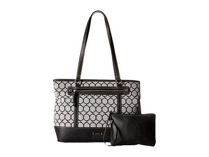 Nine West トートバッグ 完売間近SALE【NINE WEST】 9S Jacquard Tote(5)