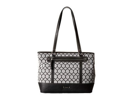 Nine West トートバッグ 完売間近SALE【NINE WEST】 9S Jacquard Tote(7)