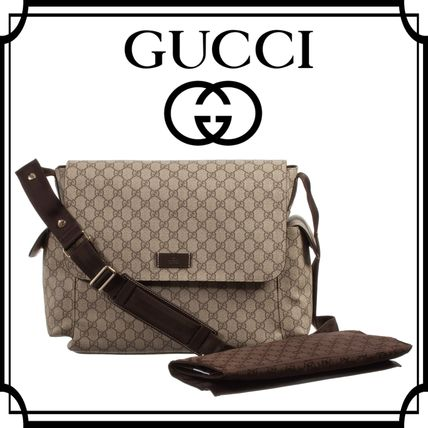 16-17AW GUCCI☆「GG」ロゴマザーズバック 関税送料込!国内発送