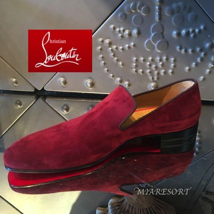 Christian Louboutin DANDELION Orthodoxe suede dress shoes