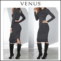 Venus*BACK DETAIL SWEATER DRESS