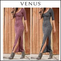 Venus*RIBBED MAXI DRESS