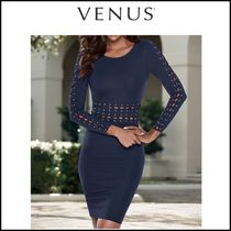 Venus*LACE UP DETAIL DRESS