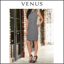Venus*BOW DETAIL DRESS