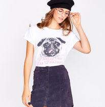 "WILDFOX - ""Waiting For the weekend"" パグ T-shirt"