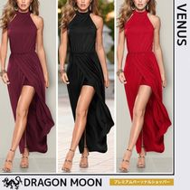 Venus*LONG DRAPE DRESS