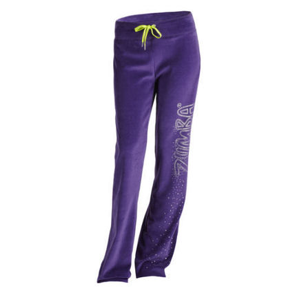 Zumba UK Gleam Velour Track Pants