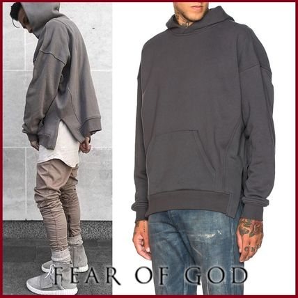 4TH【FEAR OF GOD】EVERYDAY HOODIE▲サイドカットフーディー