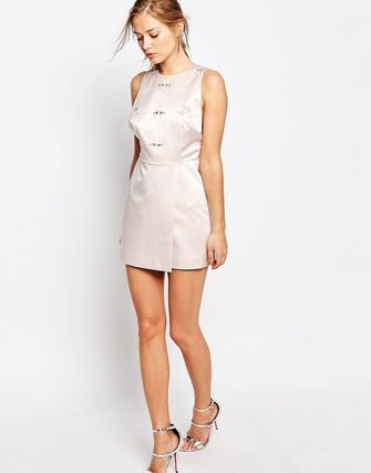 Keepsake Embellished Shift Dress