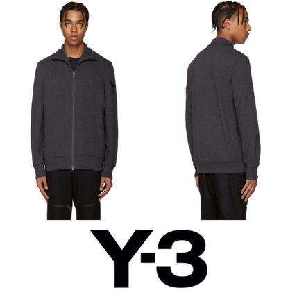 2016! 即完売! Y-3 Grey Funnel Neck Sweatshirt