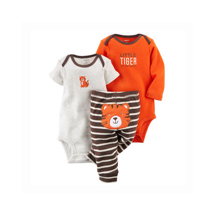 Carter's baby rompers and bottoms set