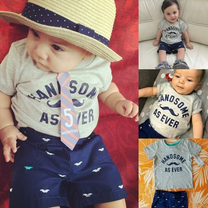 Carter's baby boy Tshirts and bottoms set