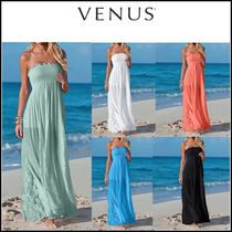 Venus*LACE DETAILED MAXI DRESS
