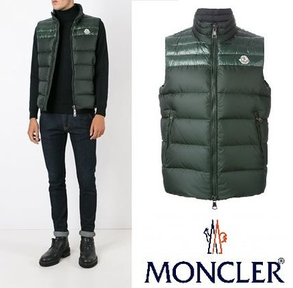 2016AW 新作 Moncler Dupres ダウンベスト グリーン
