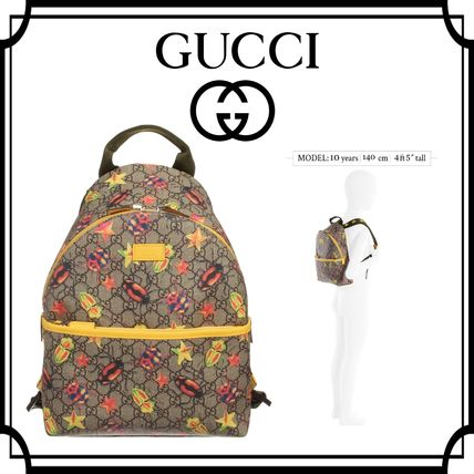 16-17AW GUCCI☆キッズ イエロービートル バックパック 関税込