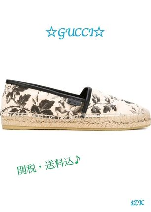 ☆Gucci☆人気! ESPADRILLAS WITH HERBARIUM PRINT★