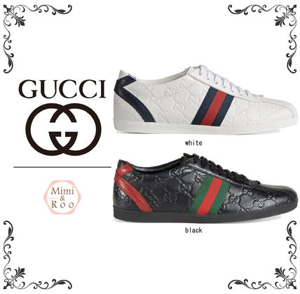 Popular fashion casual GUCCI GG logo sneakers