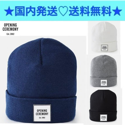 OPENING CEREMONY Kore simple knit hat