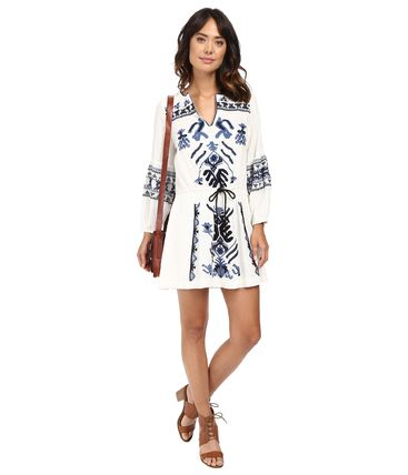 【Free People】Anouk Embroidered Mini Dress/ワンピース