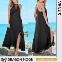 Venus*SHEER MAXI CROCHET DRESS