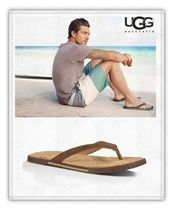 限定セール★UGG MEN'S BENNISON II CORK サンダル Luggage★