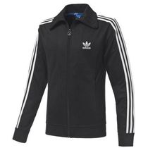 ADIDAS Men's Originals☆L EUROPA TRACK TOP ブラック L43687