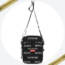 【送料込】16AW★Supreme 3M Reflective Repeat Shoulder Bag 黒