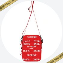 【送料込】16AW★Supreme 3M Reflective Repeat Shoulder Bag 赤