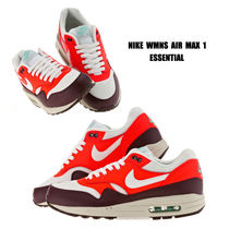 NIKE★WMNS AIR MAX 1 ESSENTIAL★24~28cm★BRIGHT CRIMSON