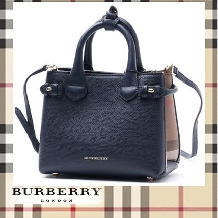 2016/17AW新作 ★ Burberry ★ BABY BANNER トートバッグ 2WAY