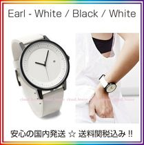 Simple Watch Co(シンプルウォッチカンパニー) アナログ腕時計 送料/税込【Simple Watch Co】本革 White/Black/White♪国内発送