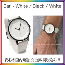 Simple Watch Co(シンプルウォッチカンパニー) アナログ時計 送料/税込【Simple Watch Co】本革 White/Black/White♪国内発送