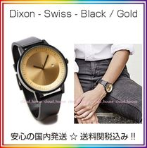 Simple Watch Co(シンプルウォッチカンパニー) アナログ腕時計 送料/税込【Simple Watch Co】本革 Black / Gold♪国内発送