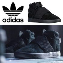 adidas Tubular Invader Strap All Black チューブラー ブラック
