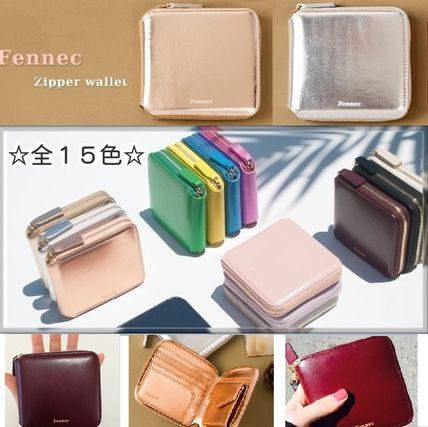 popular Fennec leather Palm-size compact bifold wallet