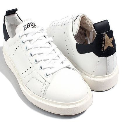 【関税負担】 GOLDEN GOOSE 16AW STARTER WHITE/BLACK