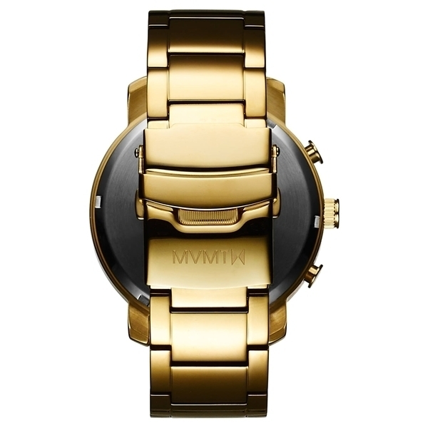 ★日本未入荷★MVMT Watches★CHRONO BLACK/GOLD 45mm★