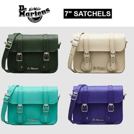 "Dr Martens☆7"" HUG ME LEATHER SATCHEL レザーサッチェル"