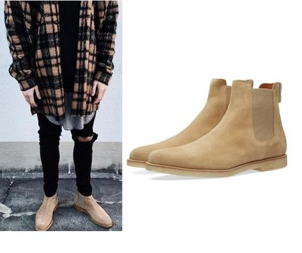 Common Projects suede boots popular