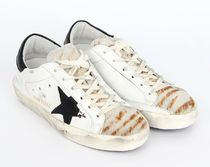 【関税負担】 GOLDEN GOOSE 16AW SUPERSTAR DESTROYED ZEBRA
