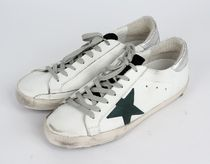 【関税負担】GOLDEN GOOSE 16AW SUPERSTAR WHITE PETROLEUM STAR